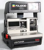 Polaroid: Polaroid 630 Lightmixer camera