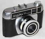 Haking: Halina 35 Mark II camera