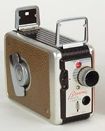 Kodak Eastman: Brownie Movie Camera f/2.7 camera