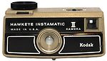 Kodak Eastman: Hawk-Eye Instamatic II camera