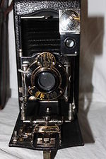 Kodak Eastman: No. 3A Folding Pocket Kodak Model C camera
