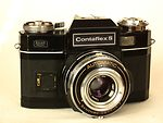 Zeiss Ikon: Contaflex S Automatic (10.1273-BL) (black) camera