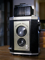 Kodak Eastman: Brownie Reflex camera