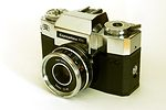 Zeiss Ikon: Contaflex 126 (10.1102) (chrome) camera