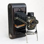 Kodak Eastman: Folding Pocket No.1A Mod D camera