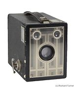 Kodak Eastman: Six- 20 Brownie Junior camera