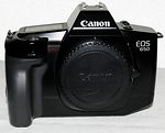 Canon: EOS 650 camera