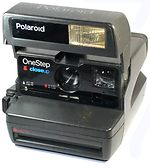 Polaroid: One Step Closeup camera