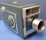 Kodak Eastman:  Automatic 8 cine camera camera