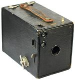 Kodak Eastman: Brownie No.2 Model D (US) camera