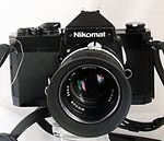Nikon: Nikkormat FT2 black (same as Nikomat FT2) camera