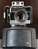 Polaroid: Polaroid 195 Land Camera camera