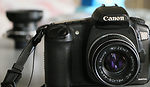 Canon: EOS 20D camera