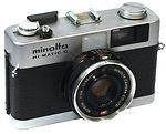 Minolta: Hi-matic G camera
