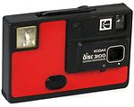Kodak Eastman: Disc 3100 (red) camera