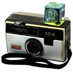 Kodak Eastman: Instamatic 134 camera