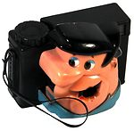 Hanna Barbera: Fred Flintstone (126) camera