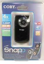 unknown companies: Coby Snapp Cam3001 camera