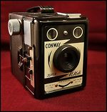 Coronet Camera: Conway Super Flash camera