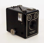 Kodak Eastman: Brownie Six-20 C camera