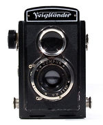 Voigtländer: Brillant with Focusing plate camera