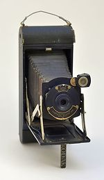 Kodak Eastman: No1a Pocket Kodak Junior camera