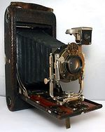 Kodak Eastman: Folding Pocket Brownie No2 Model A camera