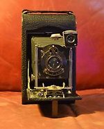 Kodak Eastman: Folding Autographic Kodak No3 Model G camera