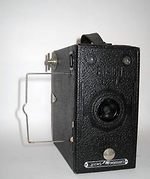Houghton: Ensign E29 Portrait (box) camera