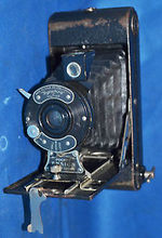 Houghton: Ensign All Distance Pocket No.1 (colored) camera