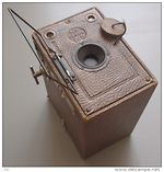 Houghton: Ensign 2 1/4 B (box, brown) camera
