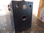 Houghton: Ensign 2 1/4 B (box) camera