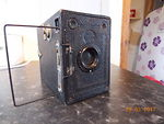 Houghton: Ensign 2 1/4 B RR (box, black) camera