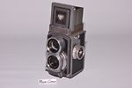 Rollei: Rolleiflex 4x4 Baby (grey/black) camera