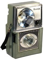 Kodak Eastman: Hawk-Eye Flashfun II camera