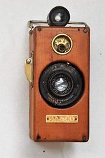 Ansco: Memo (wood body) camera
