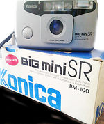 Konishiroku (Konica): Big Mini SR BM 100 Date camera
