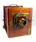 Demaria-Lapierre: Field Camera 13x18 (Tailboard) camera