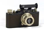 Leitz: Leica II (Mod D) (early I A upgraded) camera
