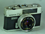 Konishiroku (Konica): Konica C35 Flashmatic camera