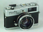 Minolta: Hi-matic 7 S II camera