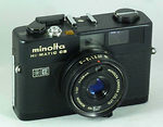 Minolta: Hi-matic CS camera