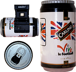 Ginfax: Carling (Vive le Football) camera
