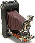 Kodak Eastman: 3A Model B-2 Folding Pocket Kodak camera