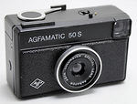 AGFA: Agfamatic 50 S camera