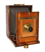 unknown companies: Wet-plate camera 18x24  camera