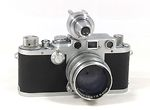 Leitz: Leica IIIf upgraded camera