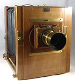 unknown companies: French large format tailboard camera