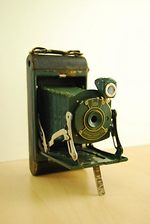 Kodak Eastman: Pocket Junior No.1 (colored) camera