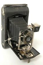 Kodak Eastman: Autographic No.3 model G camera